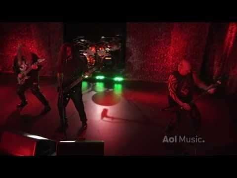 Slayer - Chemical Warfare and Raining Blood (Live at AOL Sessions 2010)