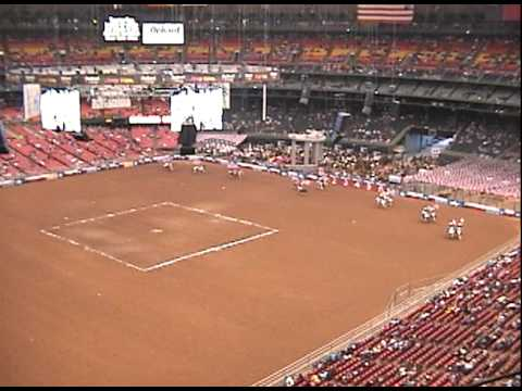 Astrodome's Last Rodeo Performance
