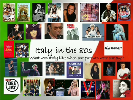 Italy in the 80s prima parte- II^AIM