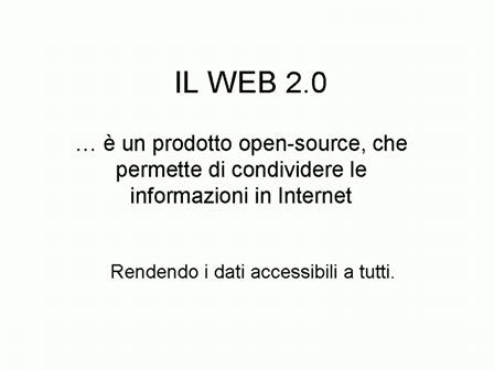Web 2.0 - Mattia Mogno