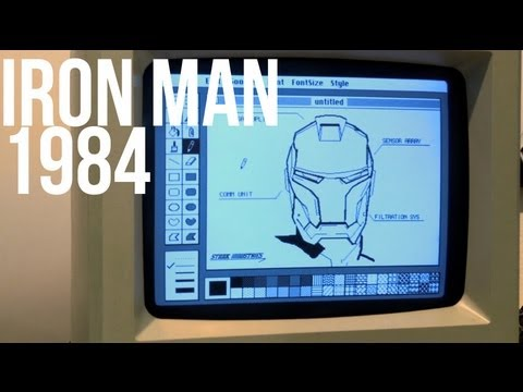 1984 Starkintosh Iron Man Speedpaint