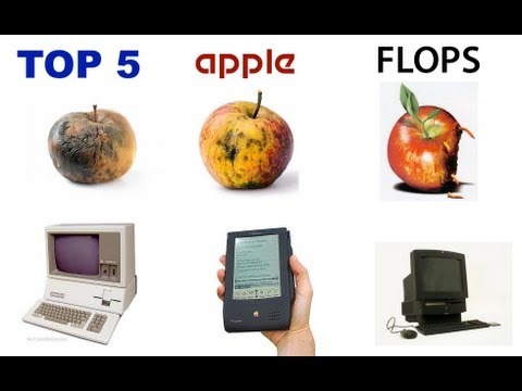 Top 5 Apple Flops