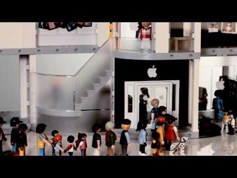 Playmobil Apple Store Play Set from ThinkGeek