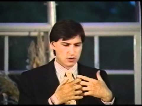 Steve Jobs in Sweden, 1985 [HQ]