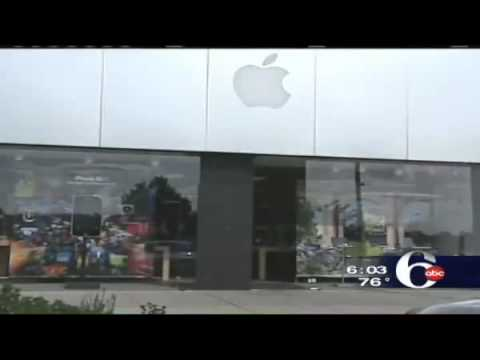 New Jersey Apple store Robbery