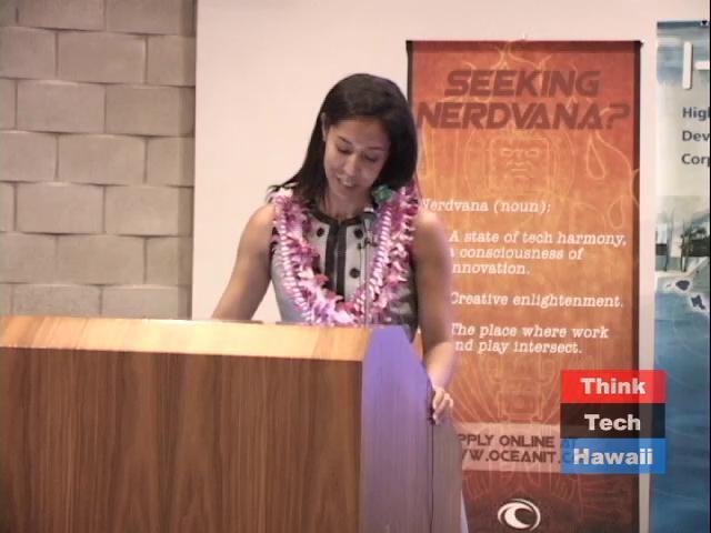 TechHui Conference Keynotes Keiki-Pua Dancil / Kaz Hashimoto