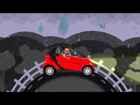 Smart Car Commercial Animated Concept