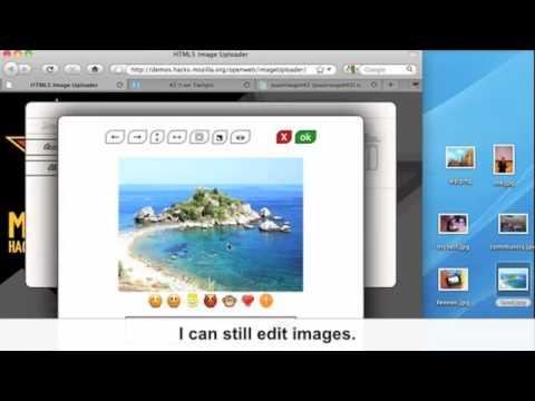 HTML5 image uploader
