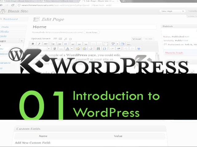 WordPress Walkthrough: Logging In & Editing