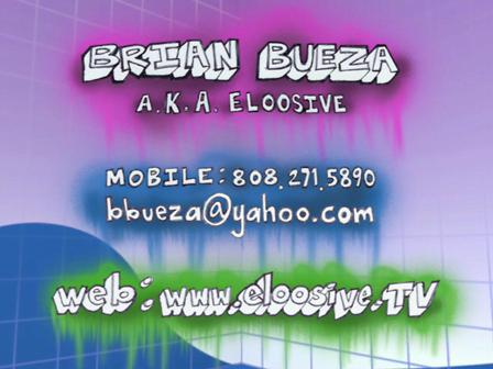 Brian Bueza's demo reel