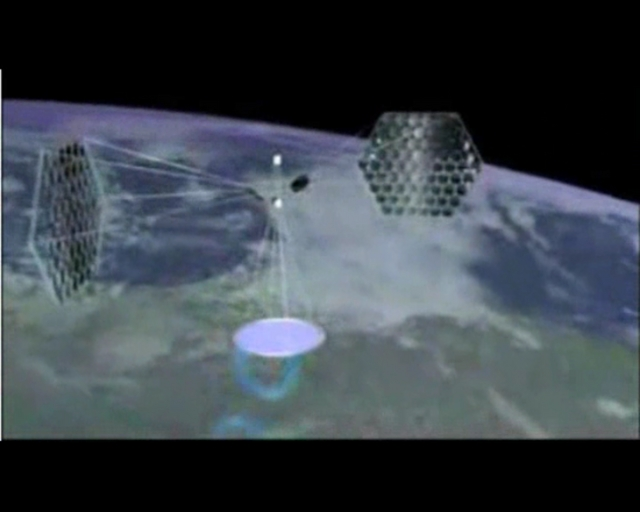 ''Beaming Concentrated Solar Power From Space to Earth''