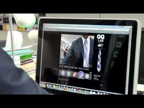 GQ Japan's AR Kit - Ties