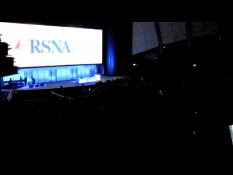 The RSNA 2009 Opening Session Begins