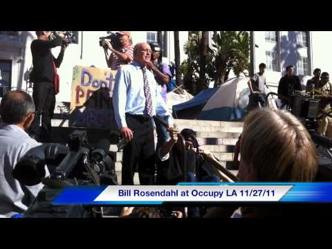 Bill Rosendahl at Occupy LA