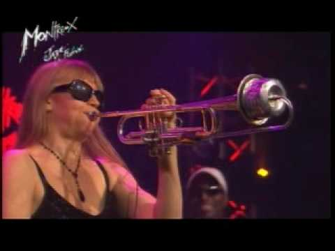 Saskia Laroo - Shout/Round Midnight ,Montreux 2007
