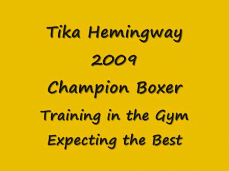 Tika's Traing Day