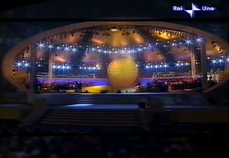 Linda Valori sings for the Pope - Il cielo (BARI)