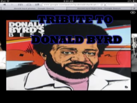 TRIBUTE TO DONALD BYRD