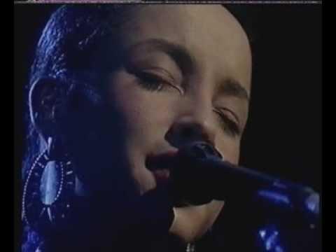 """SADE 'Live' on British TV  """"Like Paradise"""""""