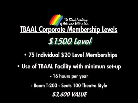 Become a TBAAL Corporate Member, it has its PERKS!