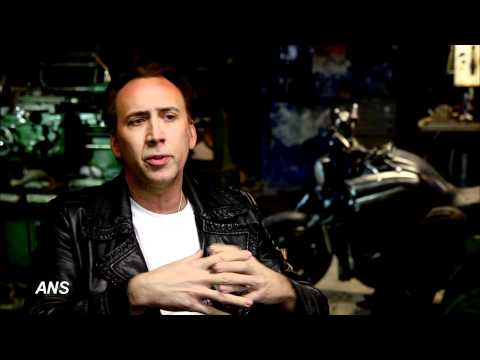 "UJD | Cinefest Coverage:  Nicolas Cage says New 'Ghost Rider' ""more organic, less heavy metal"""