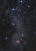 Södra Korset och Eta Carinae