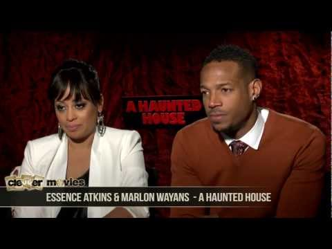 Cinefest Coverage:  Marlon Wayans & Essence Atkins 'A Haunted House' Interview