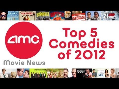 AMC Movie Talk - Top 5 Comedies of 2012