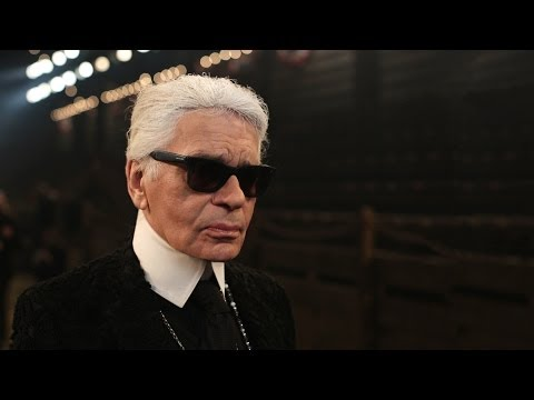 UJD | Fashion Coverage: Interview with Karl Lagerfeld - Paris-Dallas 2013/14 Métiers d'Art show