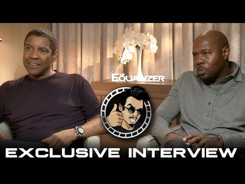 Cinefest Coverage: Denzel Washington Antoine Fuqua Interview - The Equalizer (HD) 2014