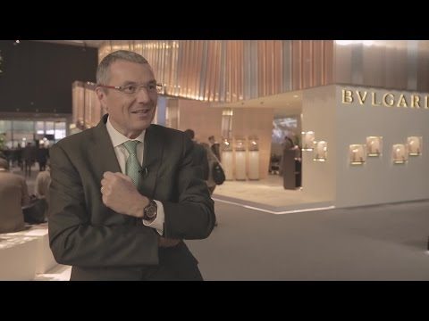 Founder's Court | Luxe - Timepieces: Live from Baselworld 2015: Interview with Jean-Christophe Babin (Bulgari)