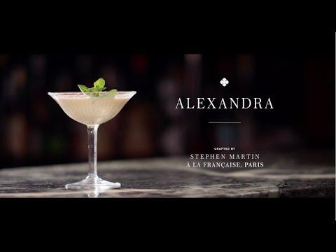 Taste Texas | Connoisseur:  Camus Cocktails : The Alexandra
