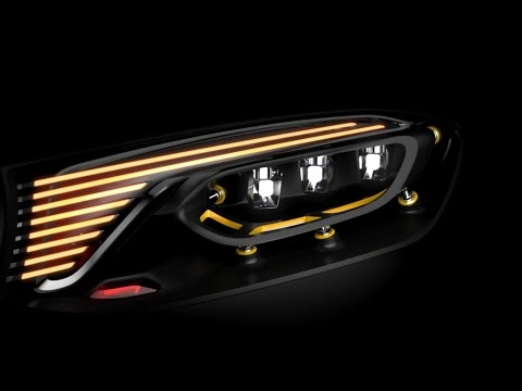 Founder's Court | Luxe:  Mercedes-Benz TV: Concept GLC Coupé Headlight – Trailer.