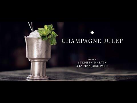 Taste Texas | Connoisseur:  Camus Cocktails : The Champagne Julep