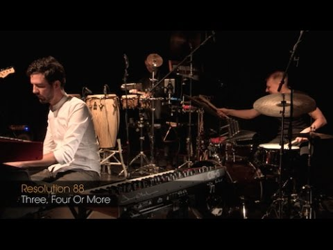 SoundandJazzLIVE:  Resolution 88: 'Three Four Or More'