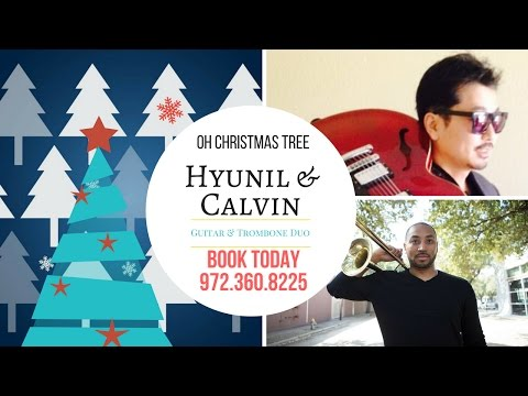 Christmas tree Trombone Guitar Calvin & Hyunil lee Tannenbaum