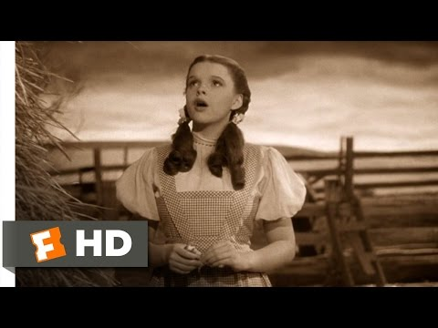BUZZEZEVIDEO Judy Garland FANS Somewhere Over the rainbow from the wizard of OZ