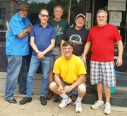 GUNTOWN BEER RESTAURANT w/THE CELLAAR BLUES BAND & SOUTH SIDE JERRY