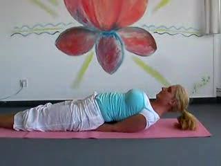 Yoga Class intermediate level