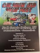 NORTH GEORGIA CRUISERS CAR SHOW & SWAP MEET