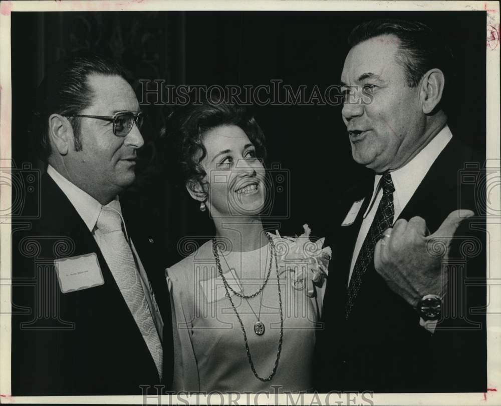 George DeMontrond, Sheila Beck and  Jack Heard