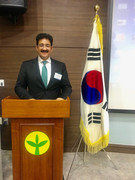 Sandeep Marwah Spoke About Indian Film Industry at South Korea