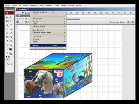 Crear una caja decorada  3D