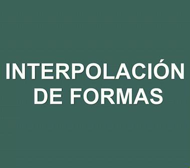 Interpolación de forma