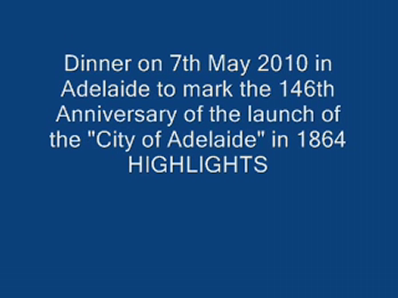 City of Adelaide 146th Anniv Dinner Highlights