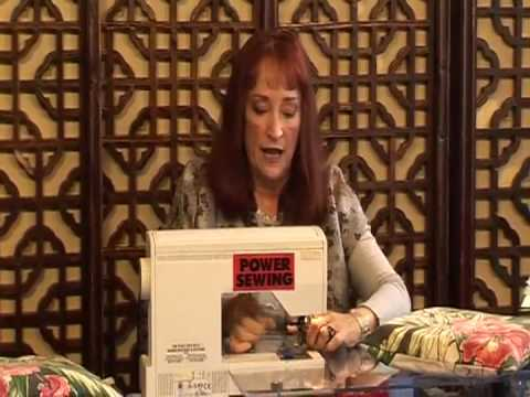 Elegant And Easy Pillows with Sandra Betzina (Part 2 of 2)