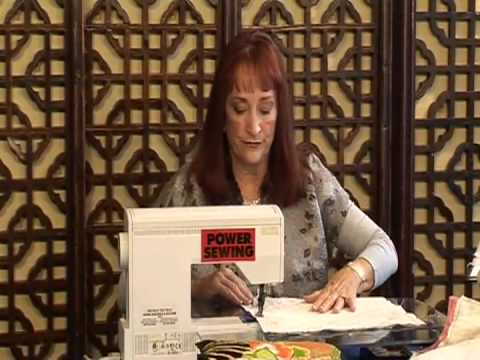 Elegant And Easy Pillows with Sandra Betzina (Part 1 of 2)