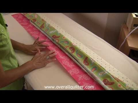 Pillow Cases with Hidden Seams