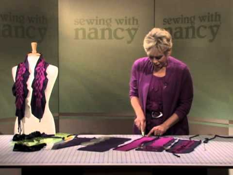 Weave 'n Wave Scarf Tutorial by Nancy Zieman