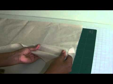 How To Find Your Fabric Grain Lines